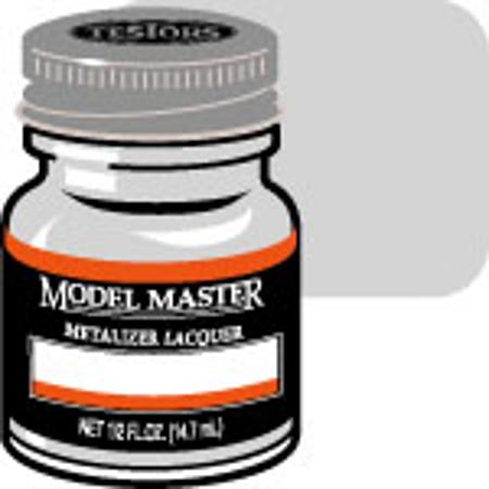 Testors Model Master Aluminum Buff Metallic 1/2 oz Hobby and Model Lacquer Paint #1401