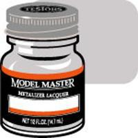 Testors Model Master Steel Buff Metallic 1/2 oz Hobby and Model Lacquer Paint #1402