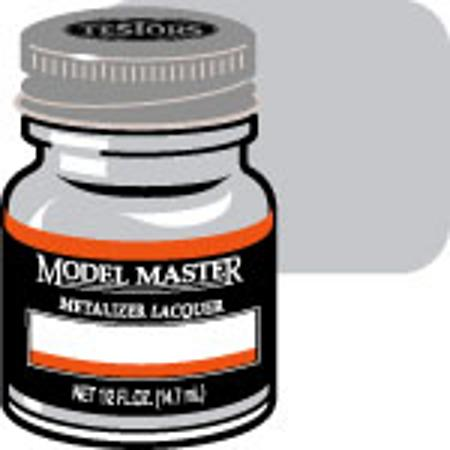 Testors Model Master Magnesium Buff Metallic 1/2 oz -- Hobby and Model Lacquer Paint -- #1403