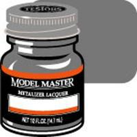 Testors Model Master Gunmetal Buff Metallic 1/2 oz Hobby and Model Lacquer Paint #1405