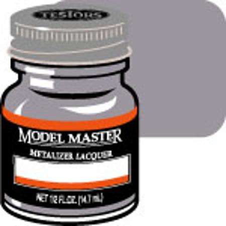 Testors Model Master Steel No Buff Metallic 1/2 oz -- Hobby and Model Lacquer Paint -- #1420