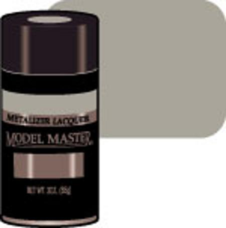 Testors Model Master Spray Titanium Buff 3 oz -- Hobby and Model Lacquer Paint -- #1454