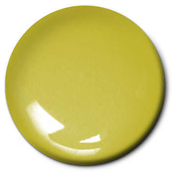 Testors Lime Gold Metal Flake 1/4 oz -- Hobby and Model Enamel Paint -- #1542t