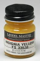 Testors Model Master Insignia Yellow 33538 1/2 oz Hobby and Model Enamel Paint #1708