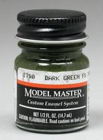 Testors Model Master Dark Green 34079 1/2 oz Hobby and Model Enamel Paint #1710