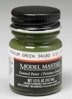 Testors Model Master Medium Green 34102 1/2 oz Hobby and Model Enamel Paint #1713