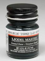 Testors Model Master Dark Sea Blue 15042 1/2 oz Hobby and Model Enamel Paint #1717
