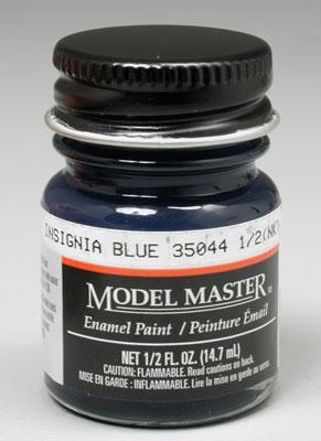 Testors Model Master Insignia Blue 35044 1/2 oz Hobby and Model Enamel Paint #1719