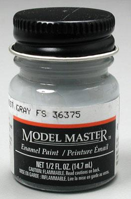 Testors Model Master Light Ghost Gray 36375 1/2 oz Hobby and Model Enamel Paint #1728