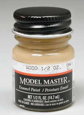 Testors Model Master Wood 1/2 oz -- Hobby and Model Enamel Paint -- #1735