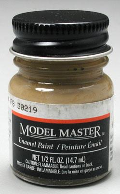 Testors 1/2oz. Bottle Model Master Enamel Dark Tan (6/Bx)