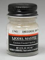 Testors Model Master Insignia White 17875 1/2 oz Hobby and Model Enamel Paint #1745