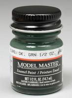 Testors Model Master Euro Dark Green 34092 1/2 oz Hobby and Model Enamel Paint #1764