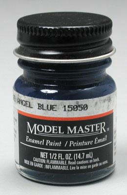 Testors Model Master Blue Angel Blue 1/2 oz Hobby and Model Enamel Paint #1772