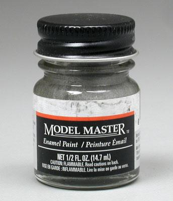Testors Model Master Steel 1/2 oz -- Hobby and Model Enamel Paint -- #1780