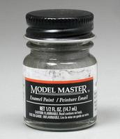 Testors (bulk of 6) Model Master Steel 1/2 oz Hobby and Model Enamel Paint #1780