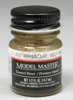 Testors Model Master Brass 1/2 oz Hobby and Model Enamel Paint #1782