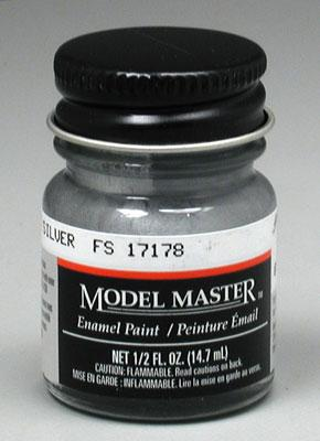 Model Master Chrome Silver 17178 1 2 Oz Hobby And Model