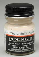 Testors Model Master Skin Tone Light 1/2 oz Hobby and Model Enamel Paint #2001