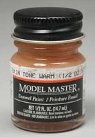 Testors Model Master Skin Tone Warm 1/2 oz Hobby and Model Enamel Paint #2003