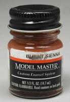 Testors Model Master Burnt Sienna 1/2 oz Hobby and Model Enamel Paint #2007