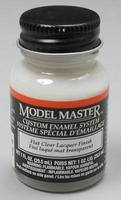 Testors (bulk of 6) Model Master Flat Clear 1 oz Hobby and Model Lacquer Paint #2015