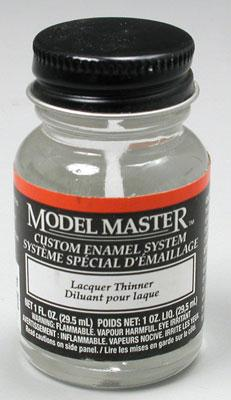 Testors Model Master Thinner 1 oz Hobby and Model Enamel Paint #2018