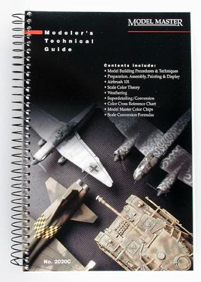 Testors Model Master Modelers Technical Guide -- How To Model Book -- #2020c