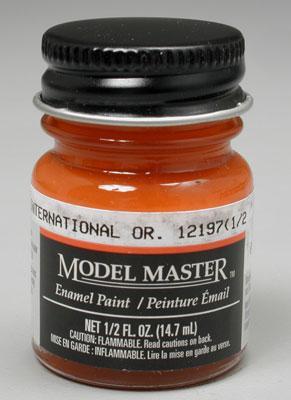 Model Master International Orange Fs12197 1 2 Oz Hobby And