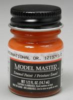 Testors Model Master International Orange FS12197 1/2 oz Hobby and Model Enamel Paint #2022