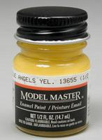 Testors Model Master Blue Angel Yellow FS13655 1/2 oz Hobby and Model Enamel Paint #2023