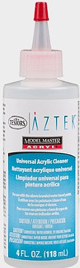 Testors AZTEK AirBrush Cleaner, 4oz Bottle