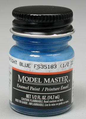 Testors Model Master Bright Blue FS35183 1/2 oz