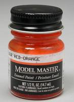 Testors Model Master Fluorescent Red Orange FS28913 1/2 oz Hobby and Model Enamel Paint #2041