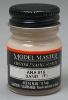 Testors Model Master World War II United States & Royal Air Force Enamel Paint Bottle - Sand (A #2053