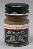 Testors Model Master Dark Earth ANA617 1/2 oz Hobby and Model Enamel Paint #2054