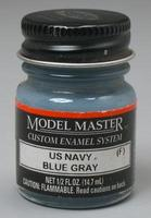Testors Model Master WWII US Navy/UK Flat Blue Gray 1/2 oz Hobby and Model Enamel Paint #2055