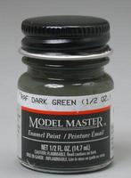 Testors Model Master RAF Dark Green 1/2 oz Hobby and Model Enamel Paint #2060