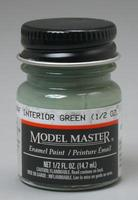 Testors Model Master RAF Interior Green 1/2 oz Hobby and Model Enamel Paint #2062