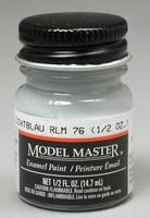 Testors Model Master Lichtblau RLM 76 1/2 oz Hobby and Model Enamel Paint #2086