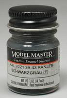 Testors Model Master Schwarzgrau RAL 7021 1/2 oz Hobby and Model Enamel Paint #2094