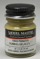 Testors Model Master Panzer Dunkelgelb 43 1/2 oz Hobby and Model Enamel Paint #2095