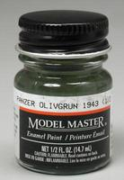 Testors Model Master Panzer Olivgrun 43 1/2 oz Hobby and Model Enamel Paint #2097