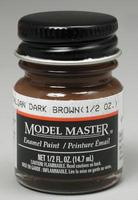Testors Model Master Italian Dark Brown 1/2 oz Hobby and Model Enamel Paint #2111