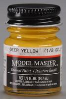 Testors Model Master Enamel Paint Bottle - World War II Japanese Colors - Deep Yellow div*HAZ*/d #2118