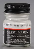 Testors Model Master Gloss White FS17925 1/2 oz Hobby and Model Enamel Paint #2144