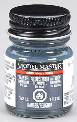 Testors Model Master 20-B Weather Deck Blue USN Semi-Gloss -- Hobby and Model Enamel Paint -- #2159