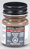 Testors (bulk of 6) Model Master Tricolor Brown Nato Semi-Gloss 1/2 oz Hobby and Model Enamel Paint #2174