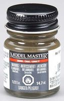 Testors (bulk of 6) Model Master RAL 6014 Gelboliv Nato Semi-Gls 1/2oz Hobby and Model Enamel Paint #2175