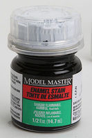 Testors (bulk of 6) Model Master Black Detail Stain (SG) 1/2 oz Hobby and Model Enamel Paint #2178